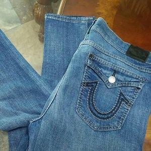 True Religion skinny leg jeans